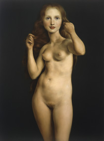 Nude by John Currin