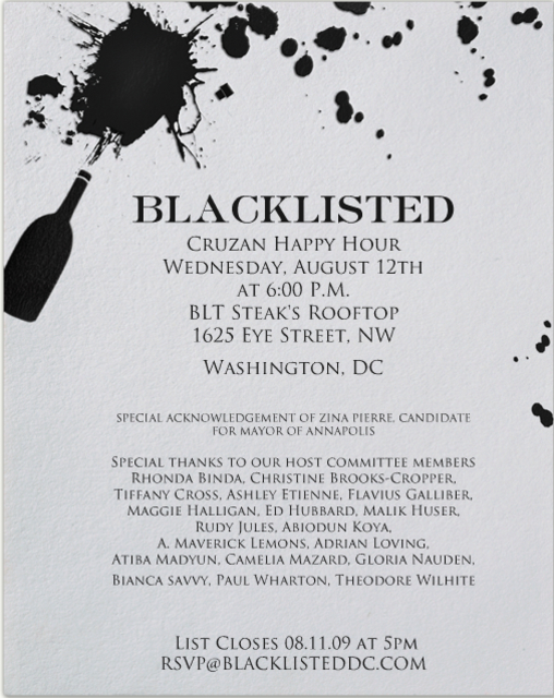 Blacklisted Invitation
