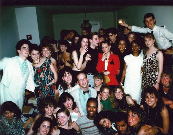 Sophomore year at Juilliard I'm bottom right between Stacy Aswad and Maggie Pihl Pelton